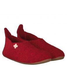 Livingkitzbühel Textil-Hausschuh in rot für Mädchen