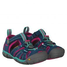 Keen, Seacamp Ii Cnx, Textil-Sandale in mehrfarbig für Mädchen