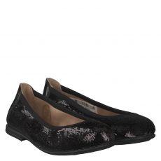 Unisa Textil-Ballerina in schwarz für Mädchen