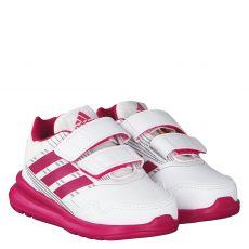 Adidas Kunstleder-Sportschuh in weiß für Mädchen