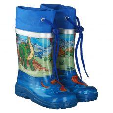 Beck, Dinos, Regenstiefel in blau für Jungen