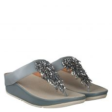 FITFLOP, RUMBA TOE THONG, GRAU
