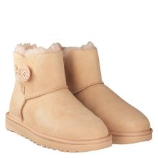 UGG, MINI BAILEY BUTTON, ROT