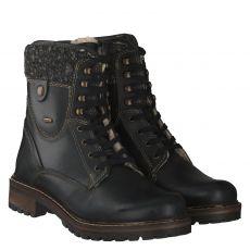 Sailer, Tulla, warmer Glattleder-Stiefel in schwarz für Damen