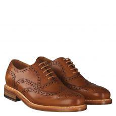 Berwick eleganter Glattleder-Schnürer in braun für Herren