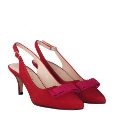 Schuhengel Sling in rot für Damen