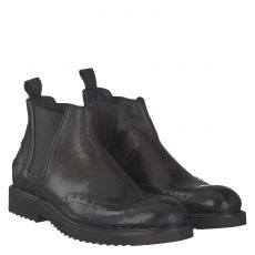 Fraipe eleganter Glattleder-Stiefel in braun für Herren