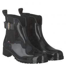 Tommy Hilfiger, Oxley 15 V, Regenstiefel in schwarz für Damen