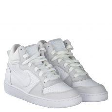 Nike, Recreation Gs, Kunstleder-Halbschuh in weiß für Jungen