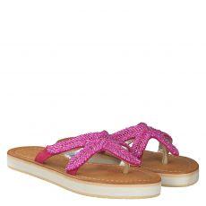 Bali Bali, Starfish, Textil-Pantolette in pink für Mädchen