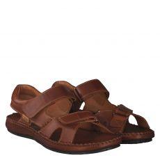 Pikolinos, Tarifa, Glattleder-Sandale in braun für Herren