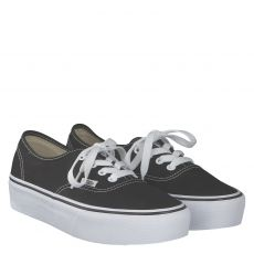VANS, AUTHENTIC PLATFORM 2, SCHWARZ