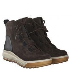 Legero, Grau, warmer Veloursleder-Stiefel in braun für Damen