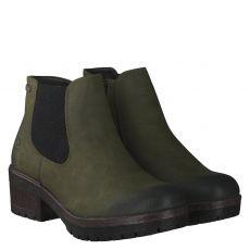 Rieker warmer Kunstleder-Stiefel in grün für Damen