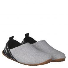 Livingkitzbühel Wolle/Schurwolle-Hausschuh in grau für Damen