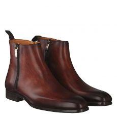 Magnanni eleganter Glattleder-Stiefel in braun für Herren