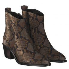 Donna Carolina kurzer Veloursleder-Stiefel in beige für Damen