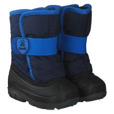 Kamik, Snowbug 3, Lauflernschuh in blau für Mädchen