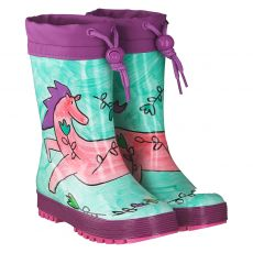 Maximo, Pferd, Regenstiefel in mehrfarbig für Mädchen