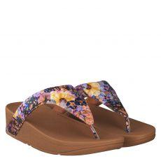 Fitflop, Lottie, Glattleder-Pantolette in mehrfarbig für Damen
