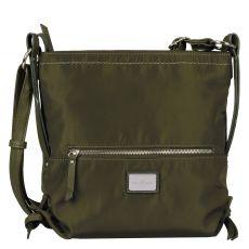 Tom Tailor, Elin Nylon Crossbag, Tasche in grün