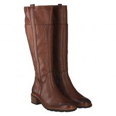 Paul Green, 9711, hoher Glattleder-Stiefel in braun für Damen