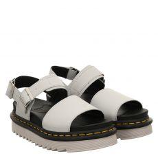 Dr.Martens, Voss Hydro, Glattleder-Sandalette in grau für Damen