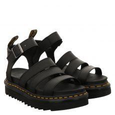 Dr.Martens, Blaire, Glattleder-Sandalette in schwarz für Damen