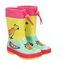 Maximo, Papagei, Regenstiefel in mehrfarbig für Mädchen