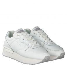 Pepe Jeans, Rusper Premium, Sneaker in weiß für Damen