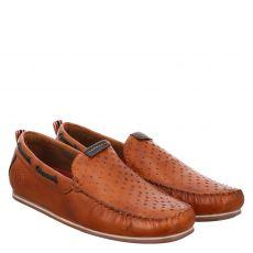 Bugatti, Cherokee Ii, eleganter Glattleder-Slipper in braun für Herren