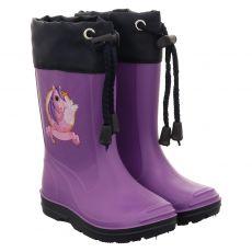 Beck, Fabella, Regenstiefel in lila für Mädchen