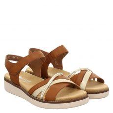 Remonte Kunstleder-Sandalette in braun für Damen