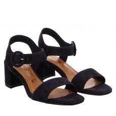 Tamaris Textil-Sandalette in blau für Damen
