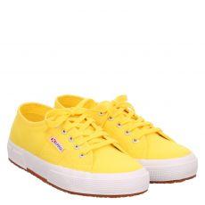 Superga, Cotmetw, Textil-Leinenschuh in gelb für Damen