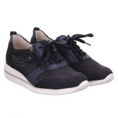 Waldläufer, H- Hilmona, Sneaker in blau für Damen