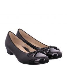 Ara, High Soft, Glattleder-Ballerina in schwarz für Damen
