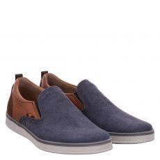 Fretzmen, Hull, sportiver Textil-Slipper in blau für Herren
