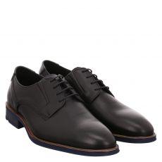 Lloyd, Karas, eleganter Glattleder-Schnürer in schwarz für Herren