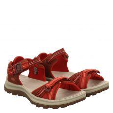 Keen, Terradora Ii, Textil-Sandalette in rot für Damen