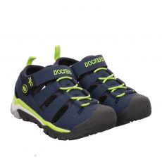 Dockers Kunstleder-Sandale in blau für Jungen