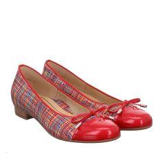 Ara, High Soft, Leinen-Ballerina in rot für Damen