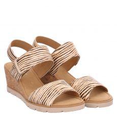 Gabor Glattleder-Sandalette in mehrfarbig für Damen
