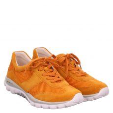 Gabor Lady, Rolling Soft, Sneaker in orange für Damen