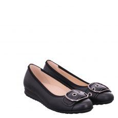 Gabor Lady Glattleder-Ballerina in schwarz für Damen