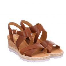 Gabor Lady Glattleder-Sandalette in braun für Damen