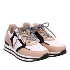 Gabor Lady, Weiß, Sneaker in beige für Damen