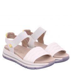 Gabor Lady Glattleder-Sandalette in weiß für Damen
