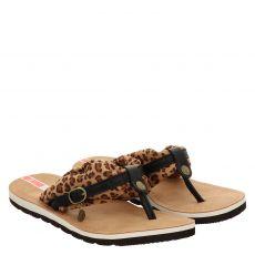 S.oliver Schuhe Textil-Pantolette in braun für Damen
