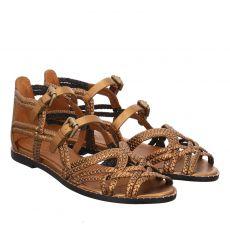 See By Chloé Glattleder-Sandalette in braun für Damen
